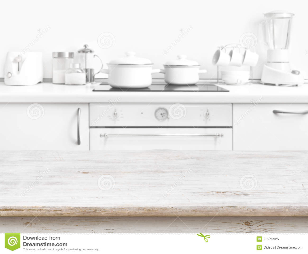 Surprising Wooden Table In Front Of Blurred White Kitchen Bench Gamerscity Chair Design For Home Gamerscityorg