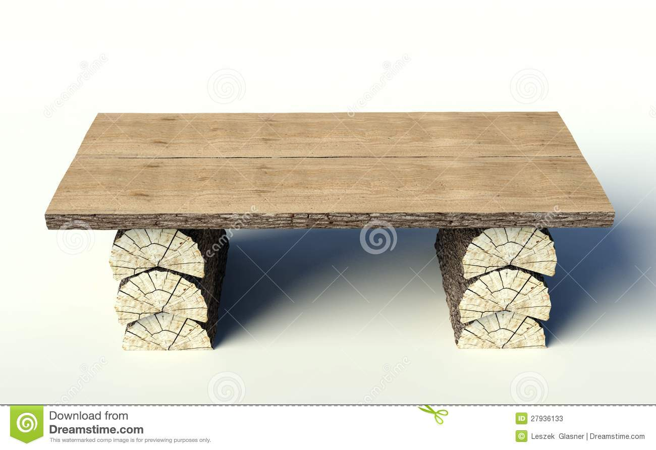 Very Impressive portraiture of Wooden Table Made Of Tree Trunks Stock Photos Image: 27936133 with #82A229 color and 1300x892 pixels