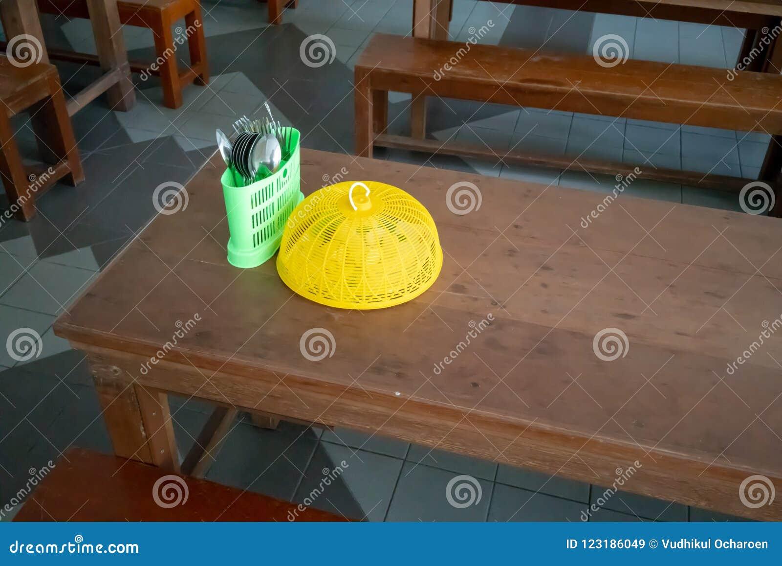 Astounding Wooden Table Set Up With Long Bench For Kindergarten Creativecarmelina Interior Chair Design Creativecarmelinacom