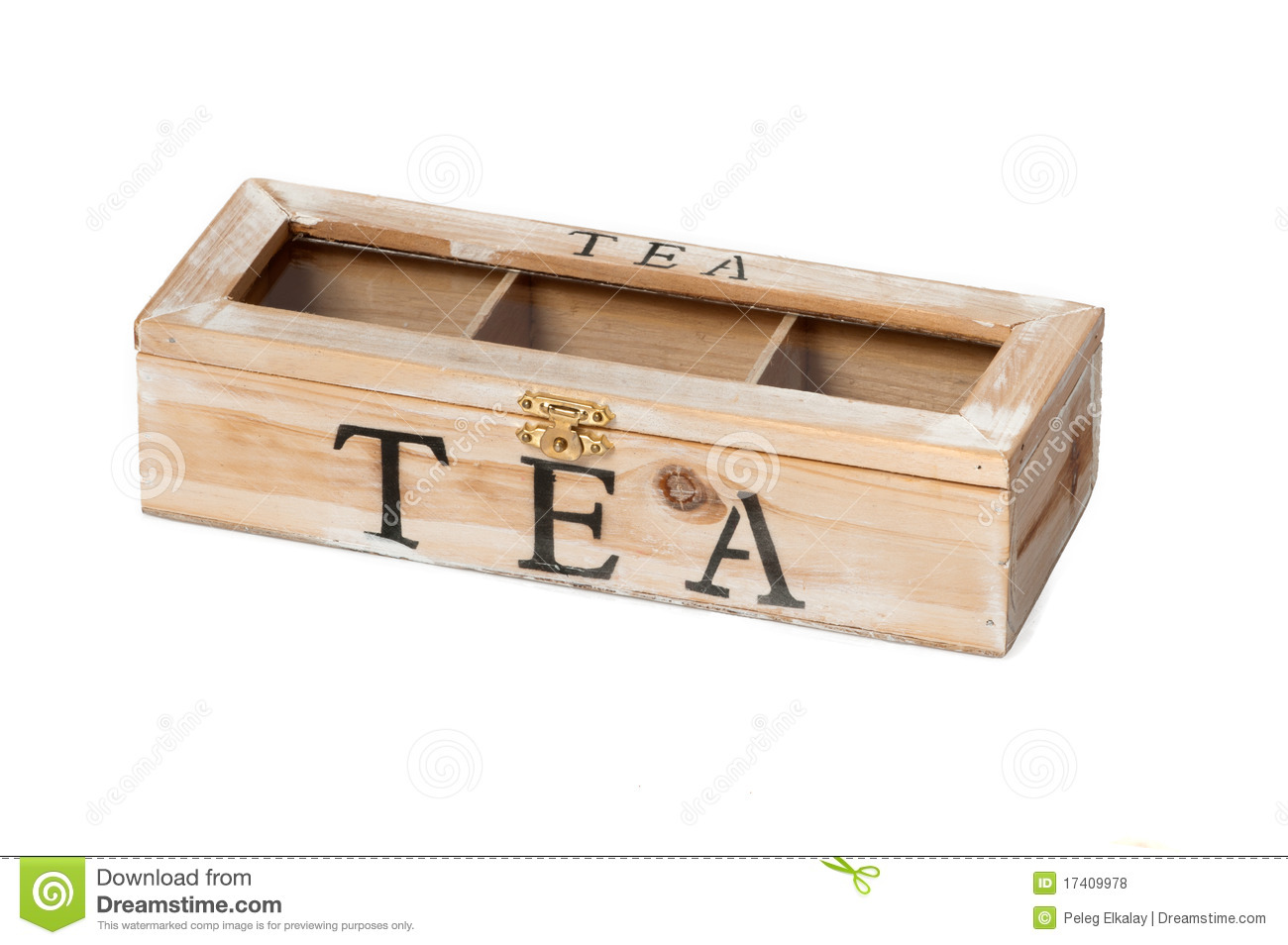 wooden tea box stock photo image of black teatime assortment 17409978. Black Bedroom Furniture Sets. Home Design Ideas
