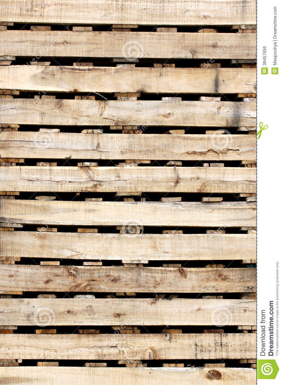 Wooden Texture Of Pallets Stock Photo Image Grain