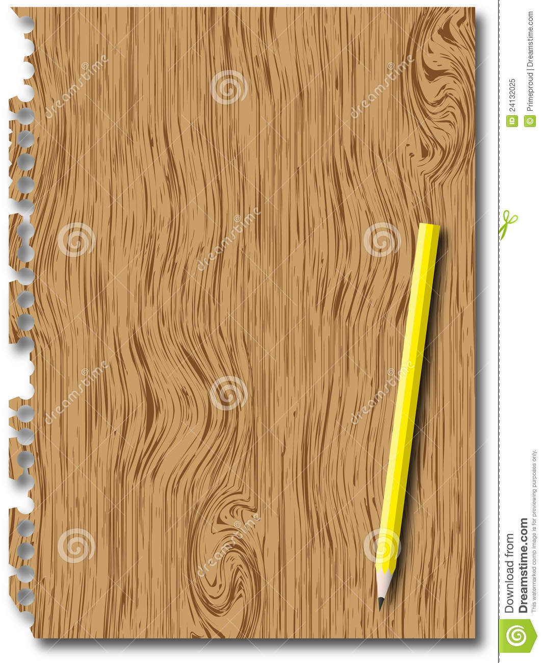 Wooden Texture And Pencil Royalty Free Stock Photo - Image ...