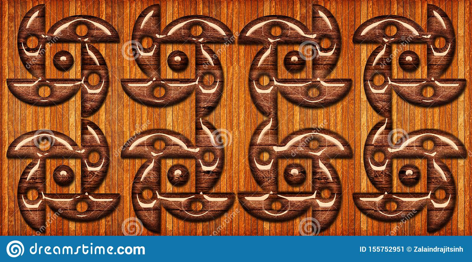 Wooden tiles pattern. wooden geometric shapes, wooden floor tile. High quality seamless realistic texture. For wall, web, bathroom