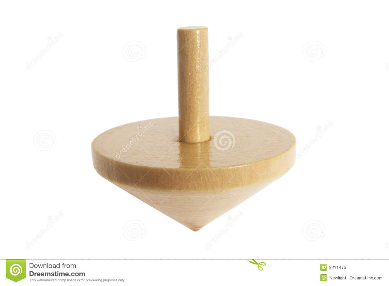 wooden top isolated - photo #8