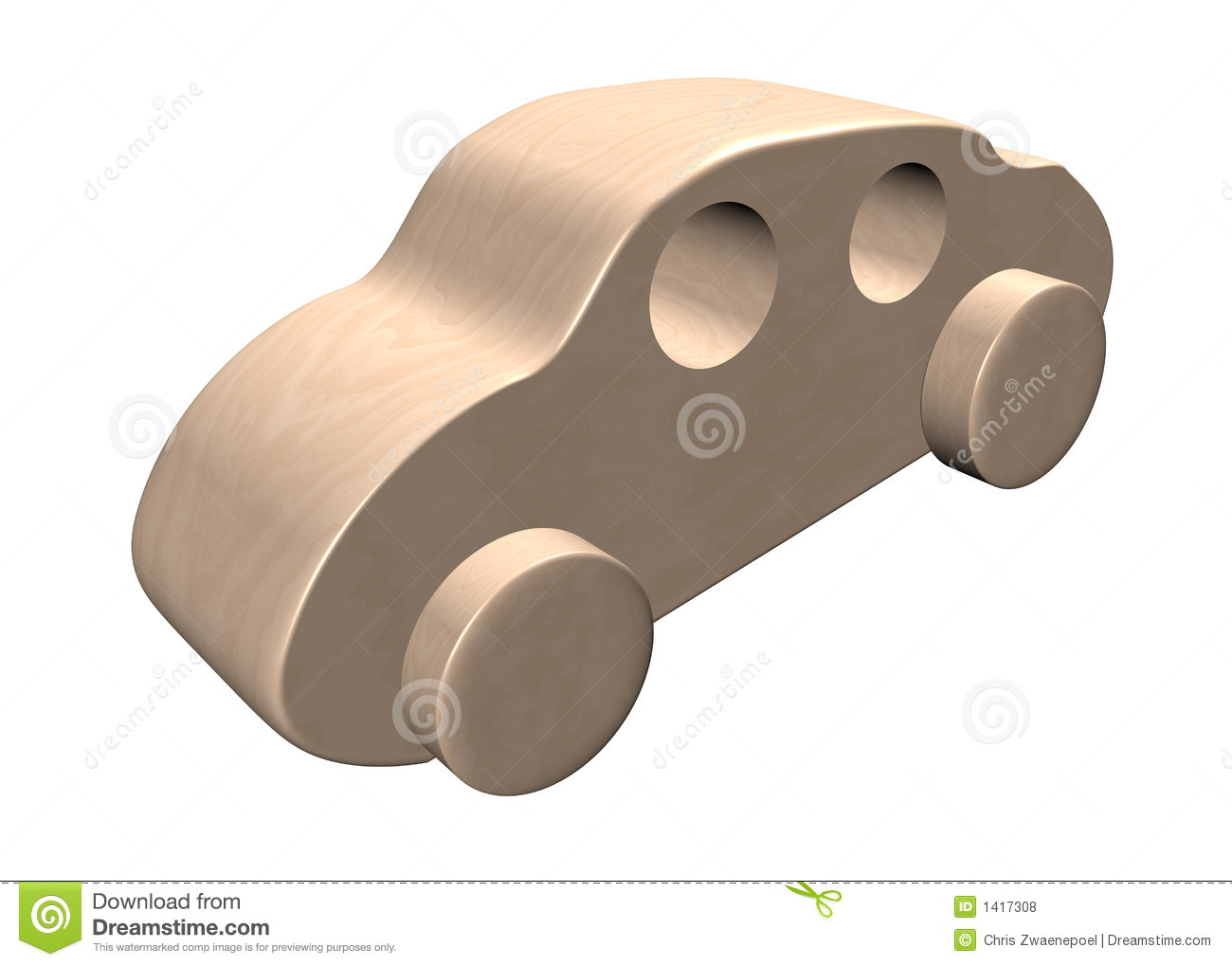 Wooden Toy Car Royalty Free Stock Photos - Image: 1417308
