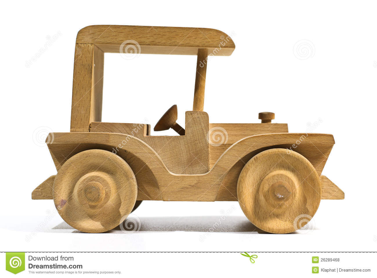 Wooden Toy Car Royalty Free Stock Photos - Image: 26289468
