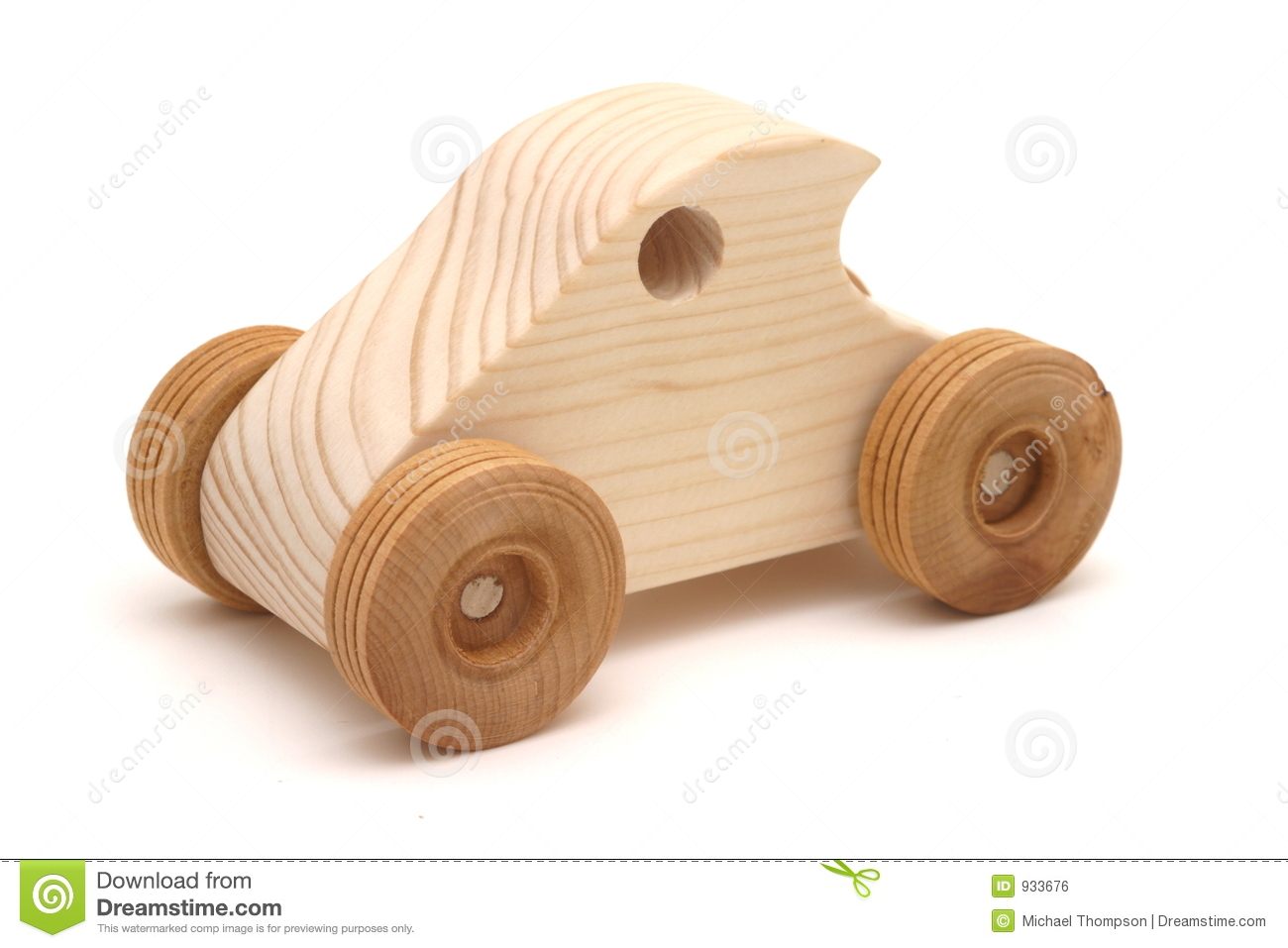toy car: wooden toy car