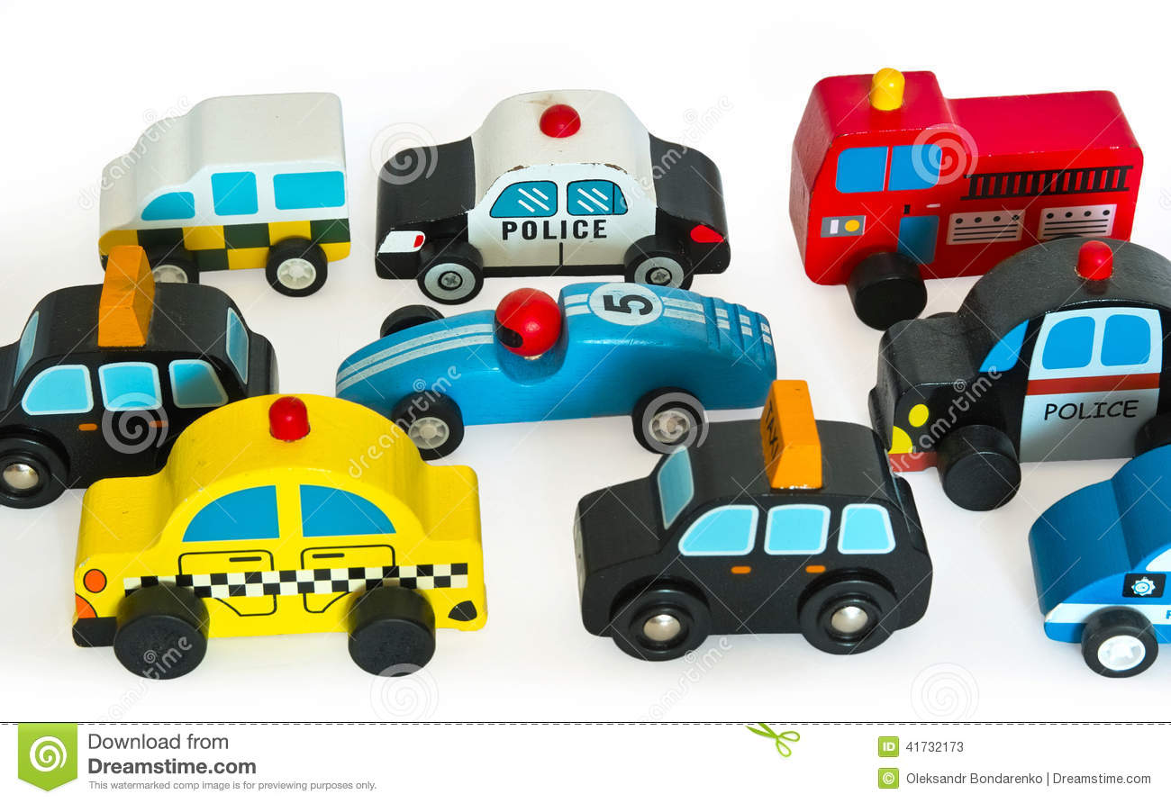 This wooden toy cars, made indoors under artificial light. Was used a ...