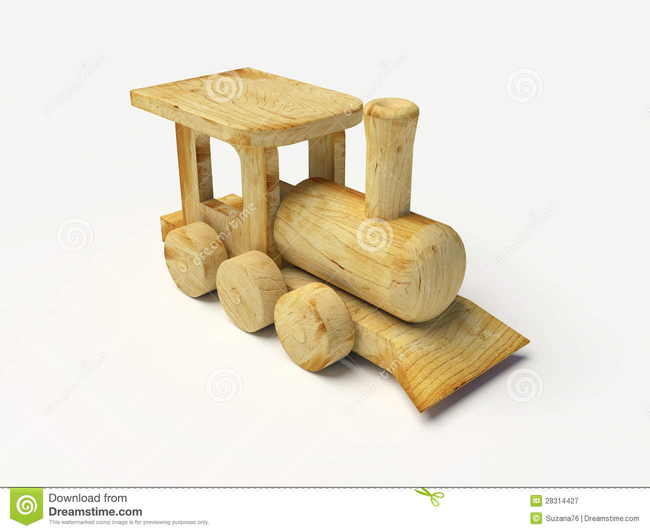 Wooden Toy Train Royalty Free Stock Photography - Image: 28314427