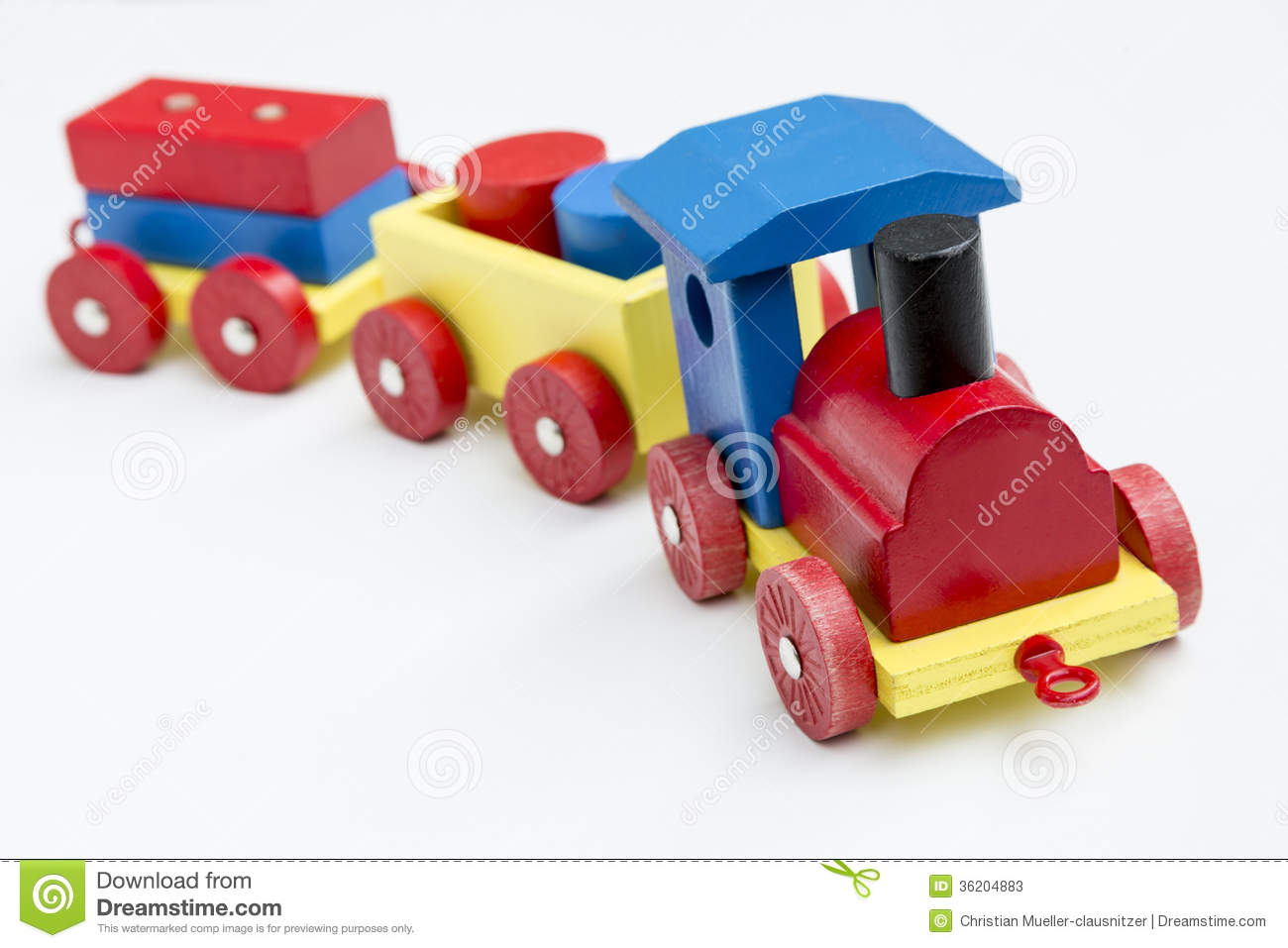 Wooden toy train stock image. Image of creativity, playing ...