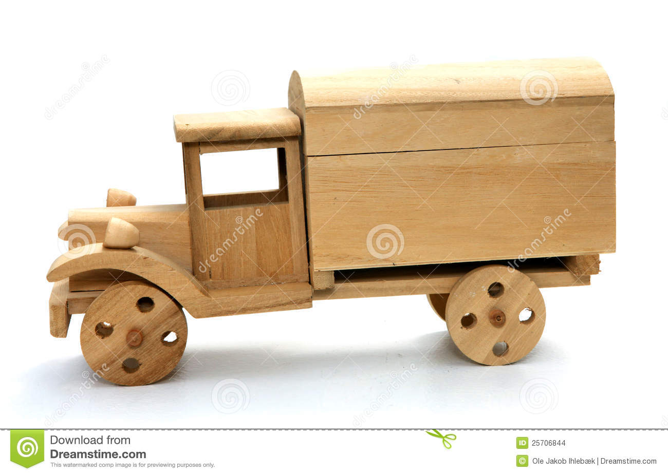 Wooden Toy Truck Stock Images - Image: 25706844