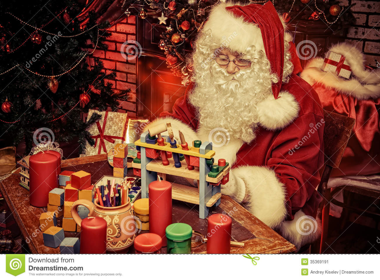 Wooden toys stock image. Image of carpentry, presents ...