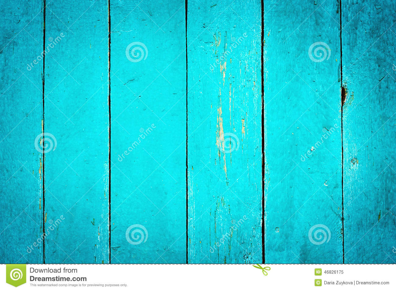 Wooden Turquoise Textured Background Stock Image Image