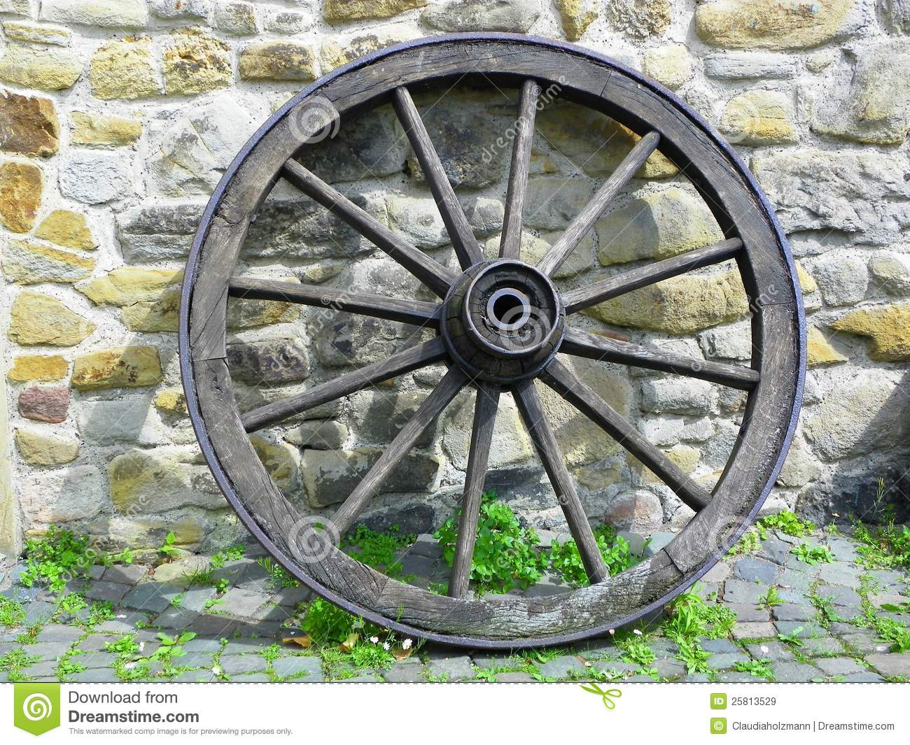 How To Make A Wooden Wagon Wheel Hub