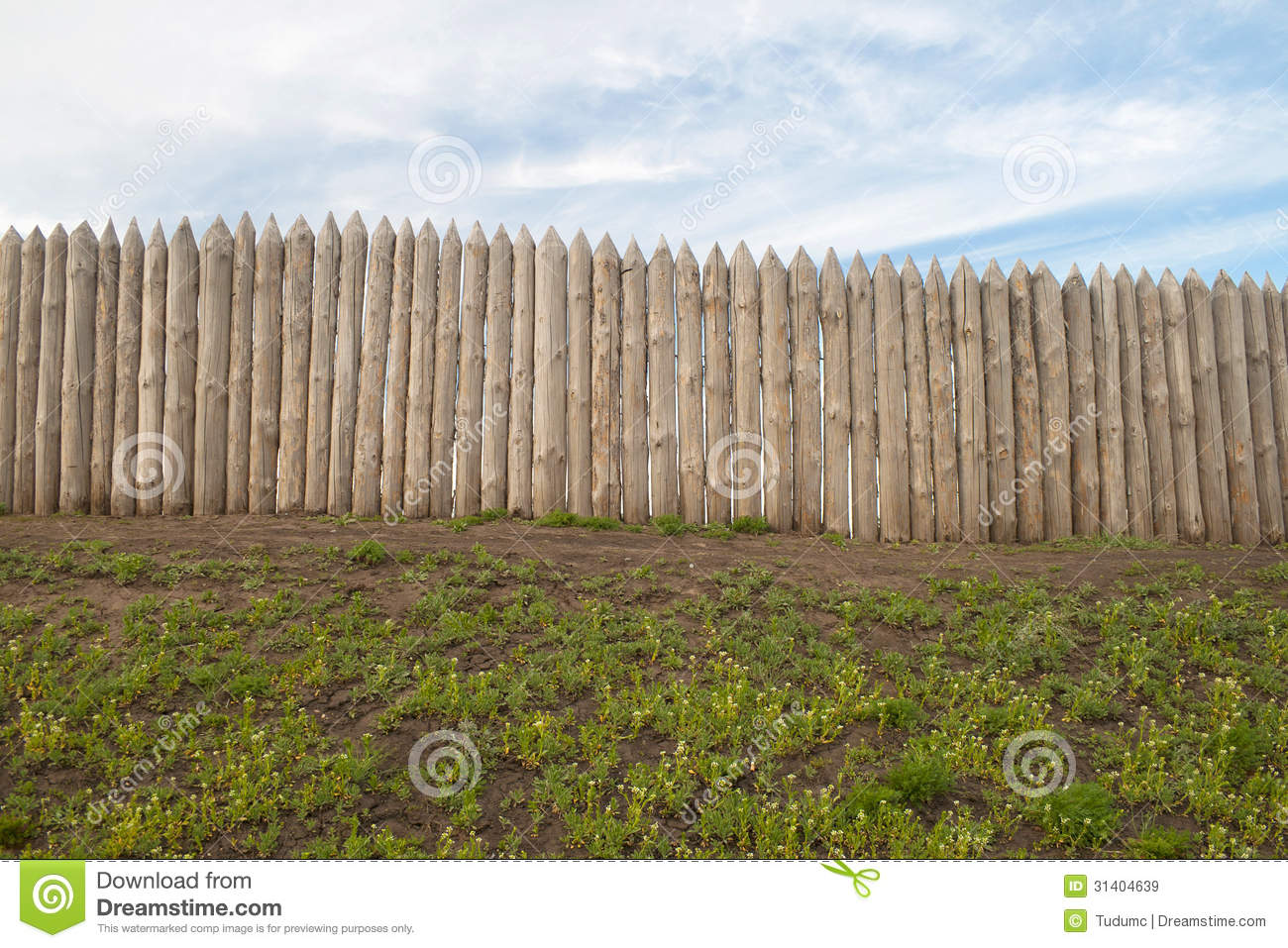 Wooden wall stock image image of strength buildings for Old wooden forts