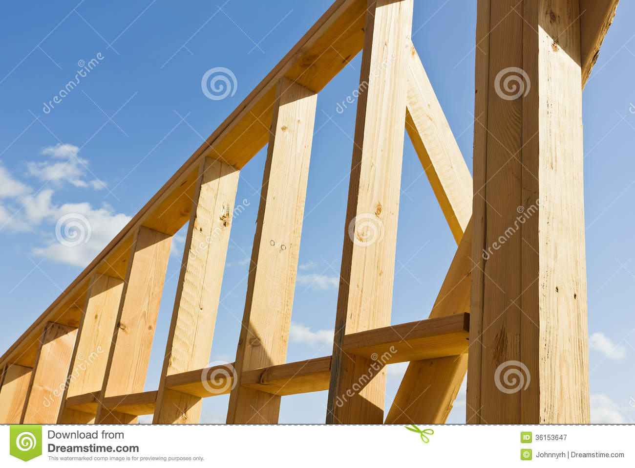 wooden wall frame - Wood Frame Construction