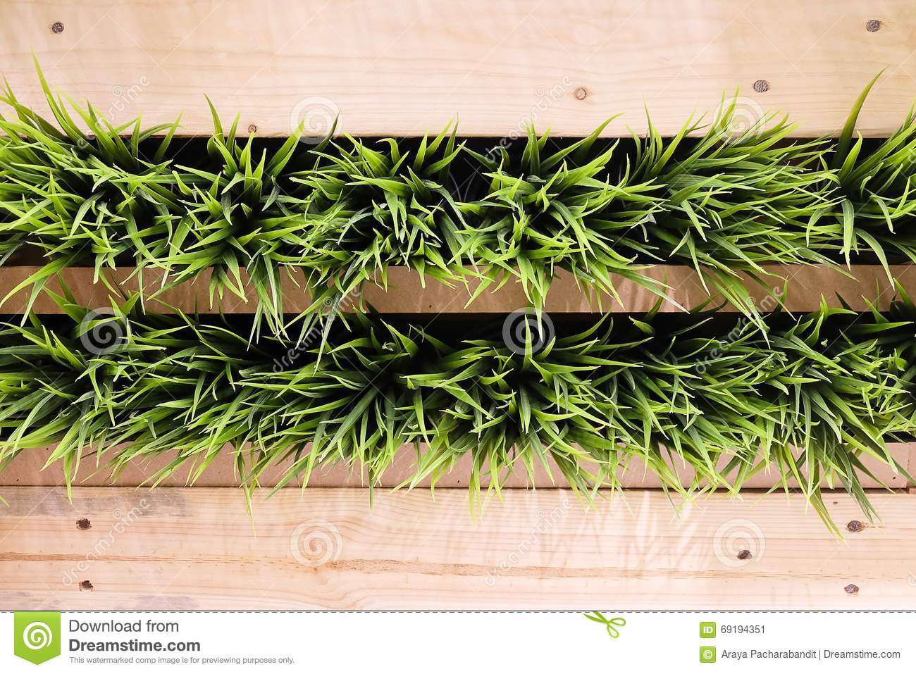 wooden wall with hang green artificial plants artificial plants for office decor