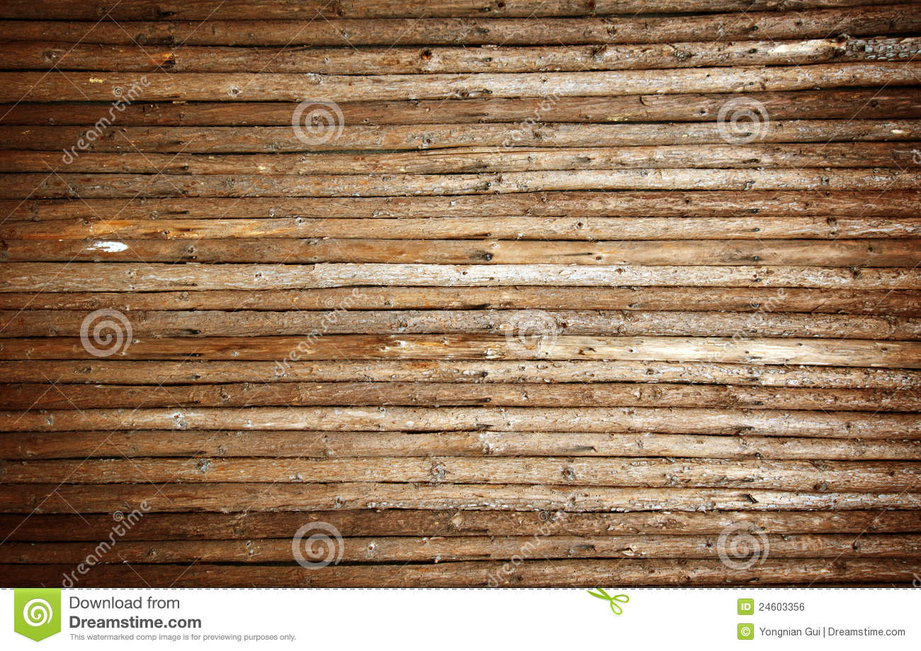 Walls made of wood, background material.