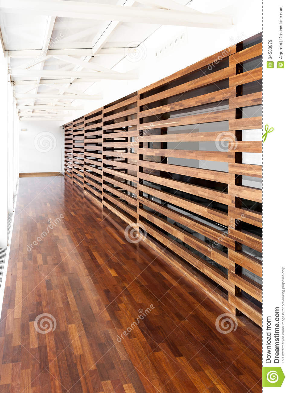 Wooden Wall Stock Image Image Of Architectural Texture