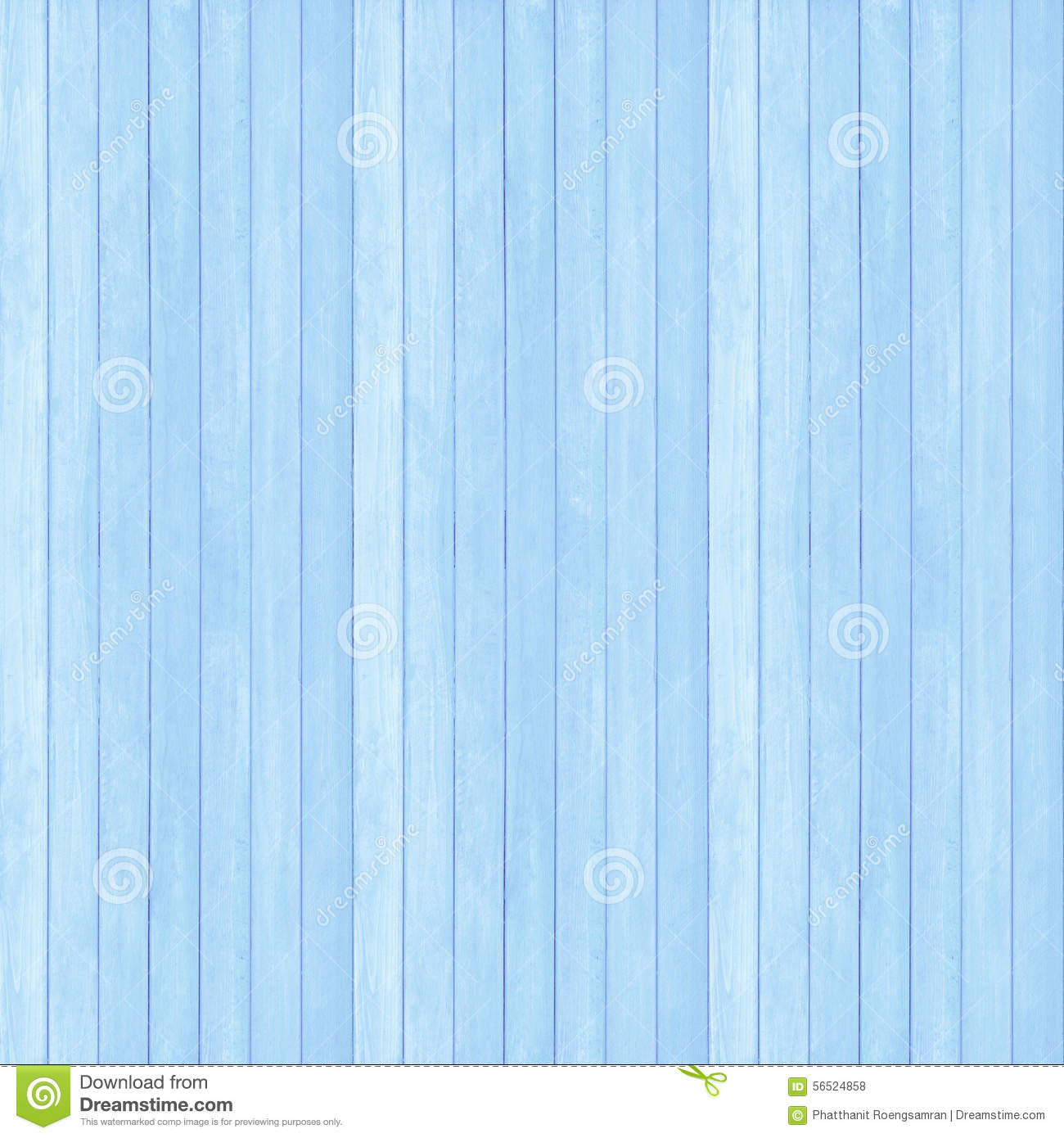 Wooden Wall Texture Background Blue Pastel Color Stock