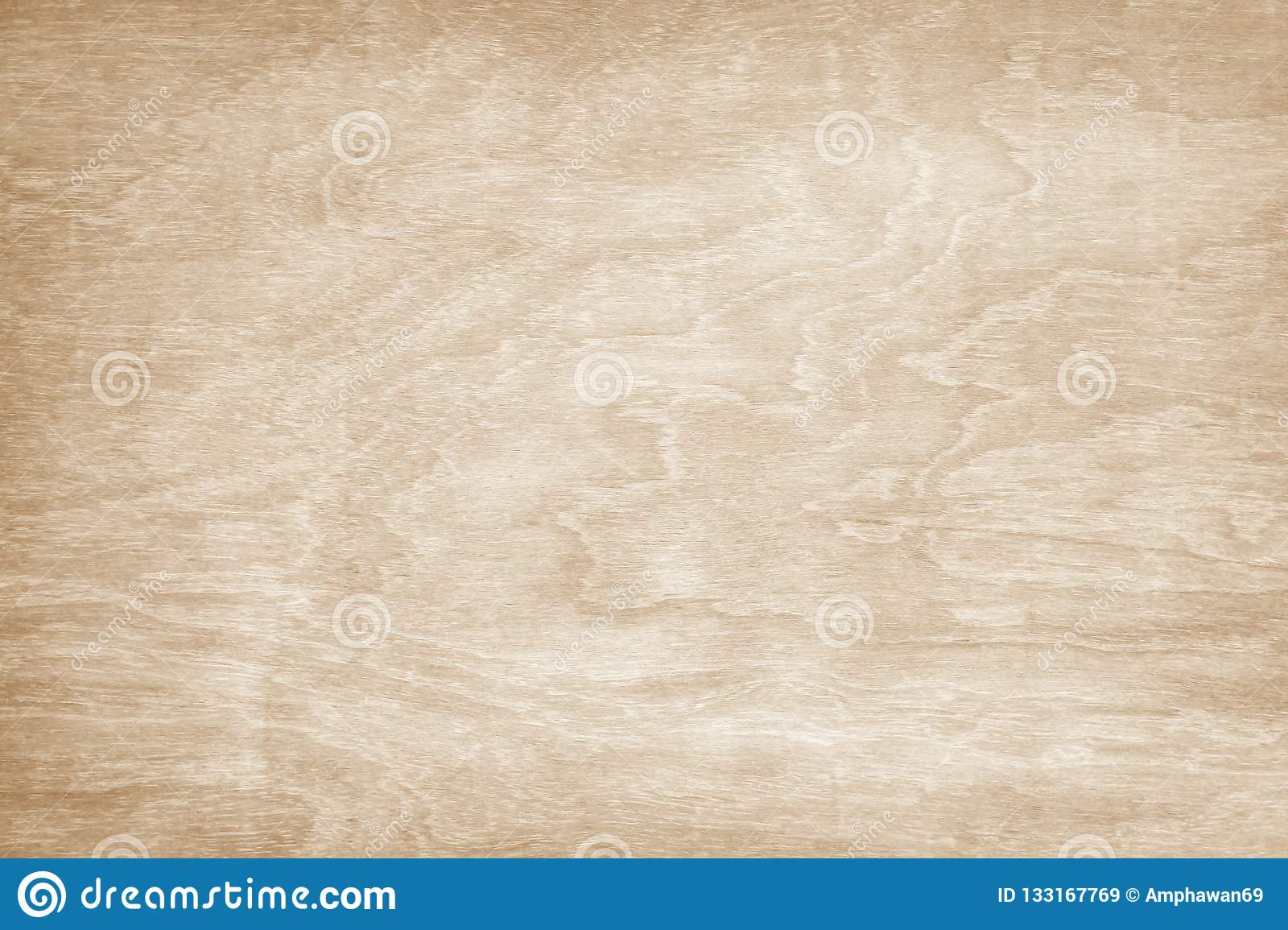 Wooden wall texture background, Light brown natural wave patterns abstract in horizontal