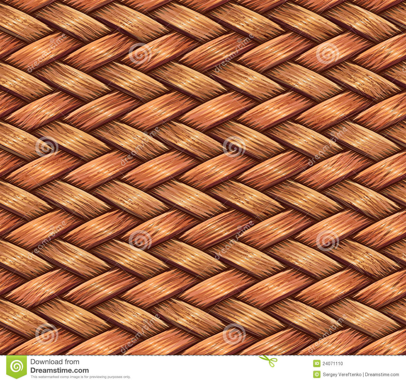 Wooden Weaving Stock Photo Image 24071110