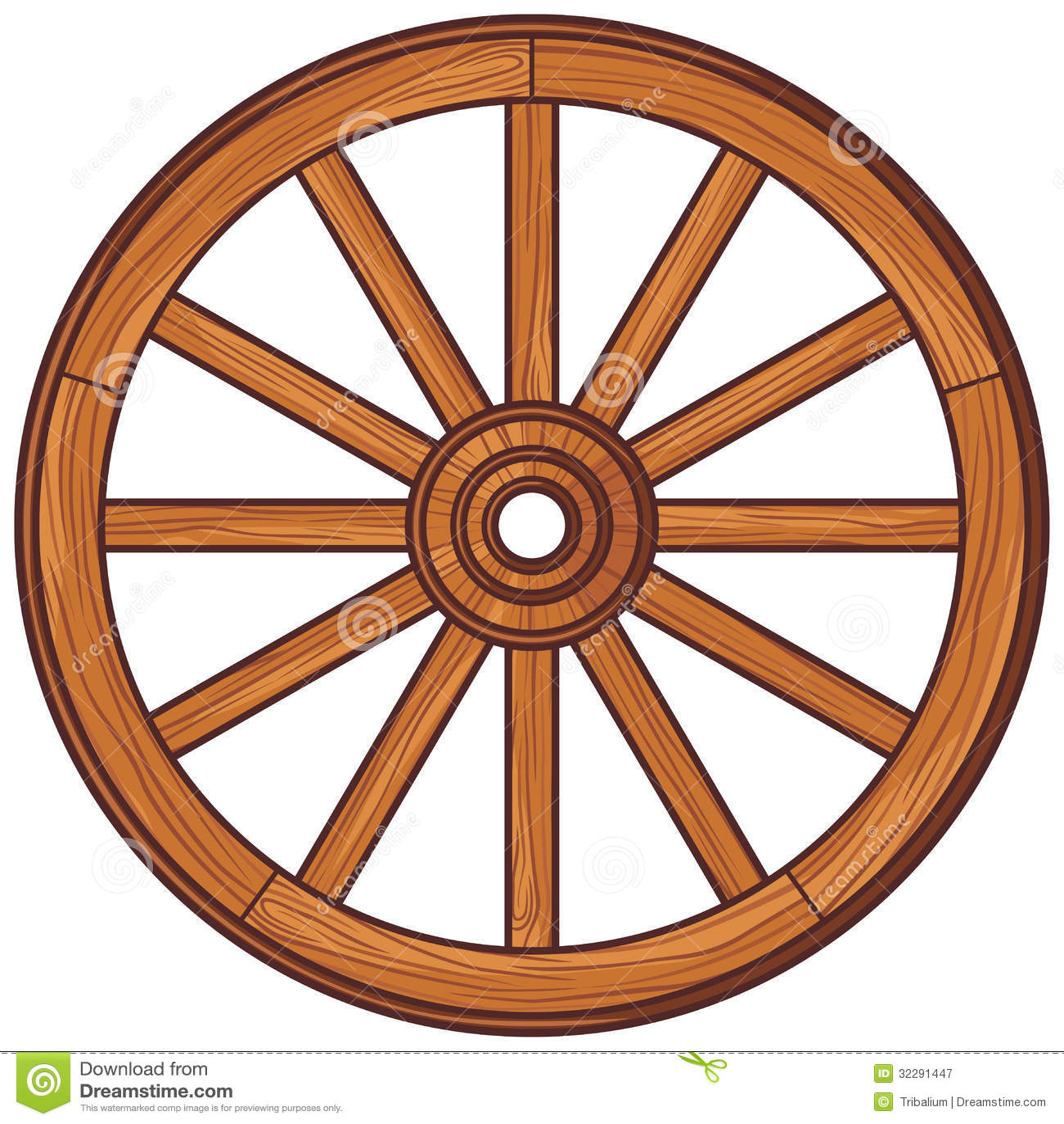 Clip Art Bike Wheel