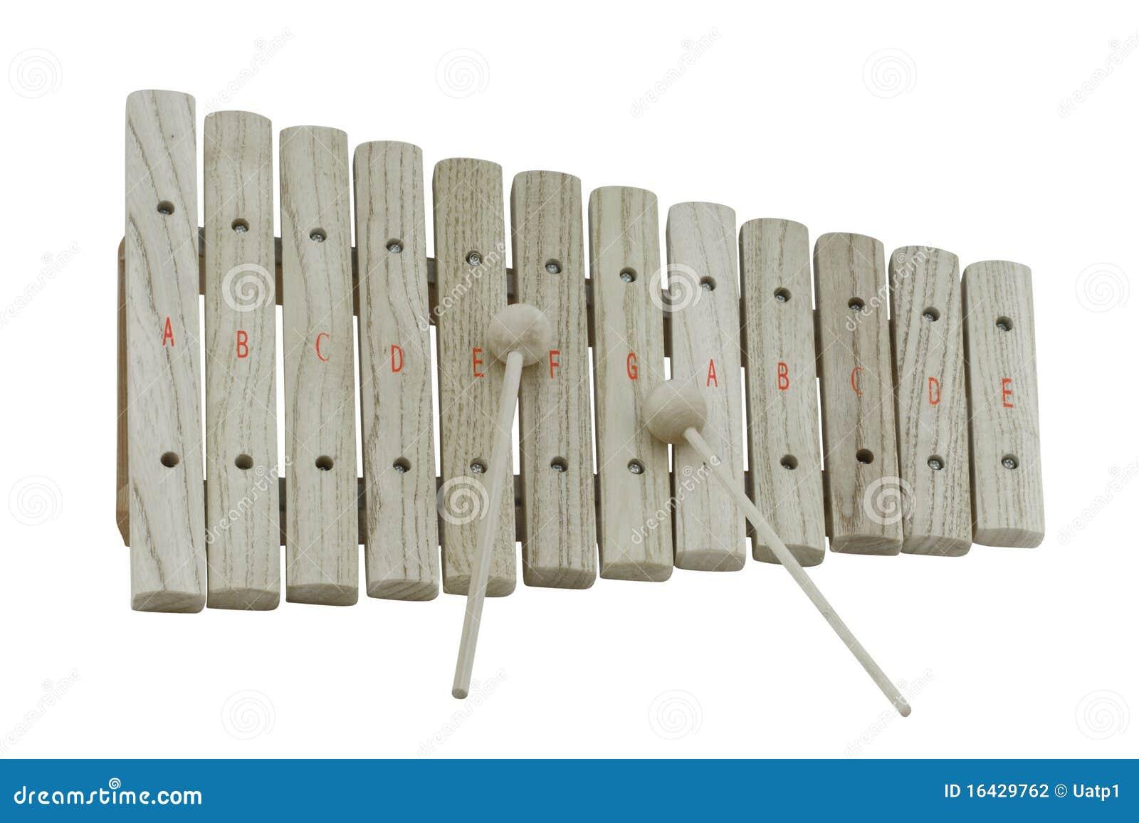 Wooden Xylophone Wooden xylophone
