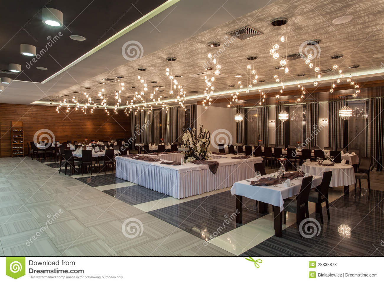 Woodland hotel - Dining room in a hotel