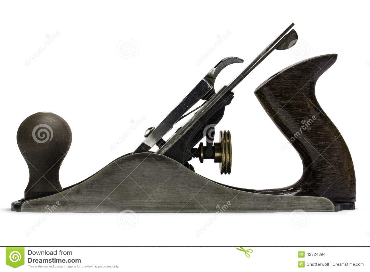Woodworking Hand Tools Iron Plane Stock Photo Image Of
