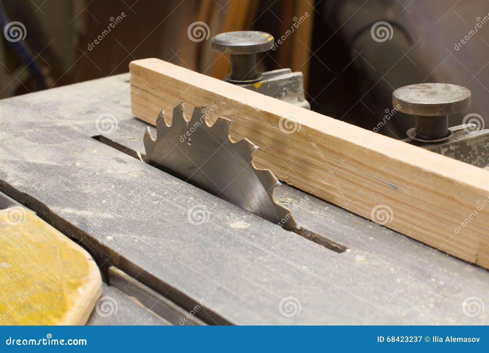 Woodworking kurenda zobaczył zbliżenie