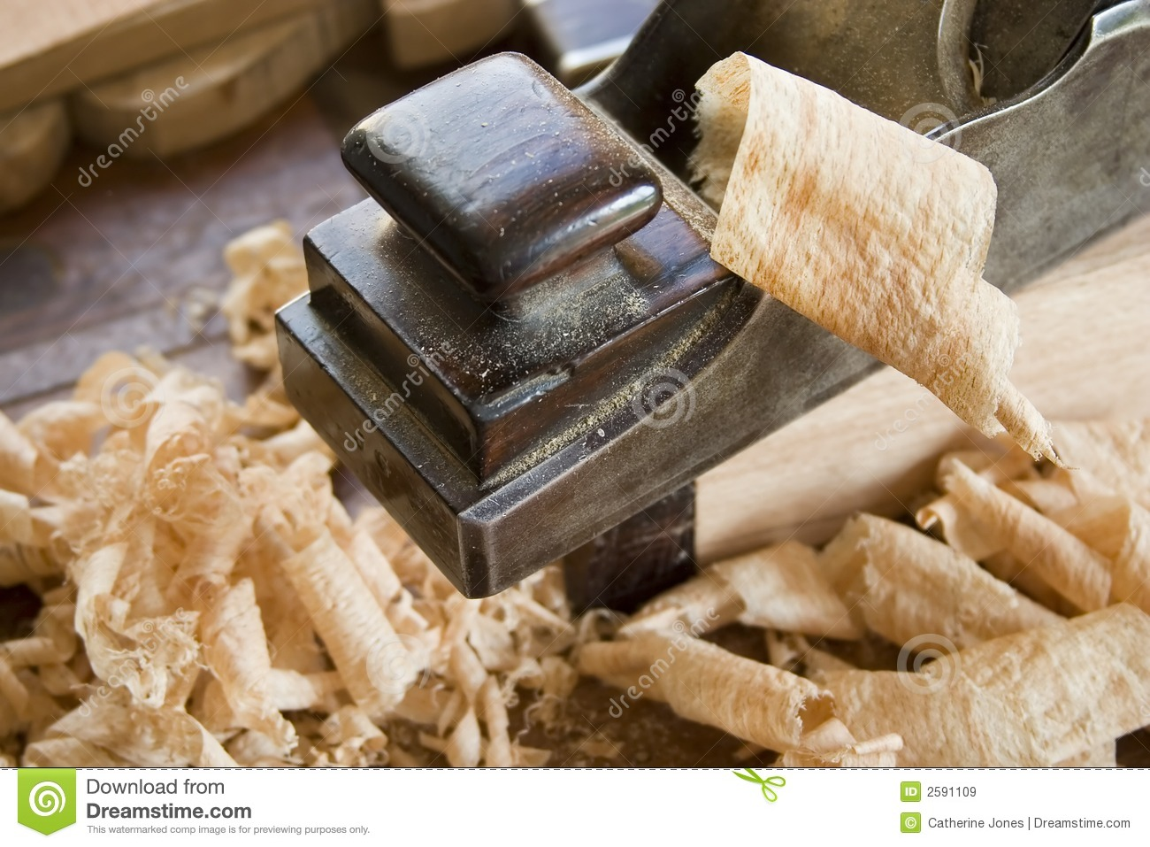 Woodworking Tool: Plane Royalty Free Stock Images - Image ...