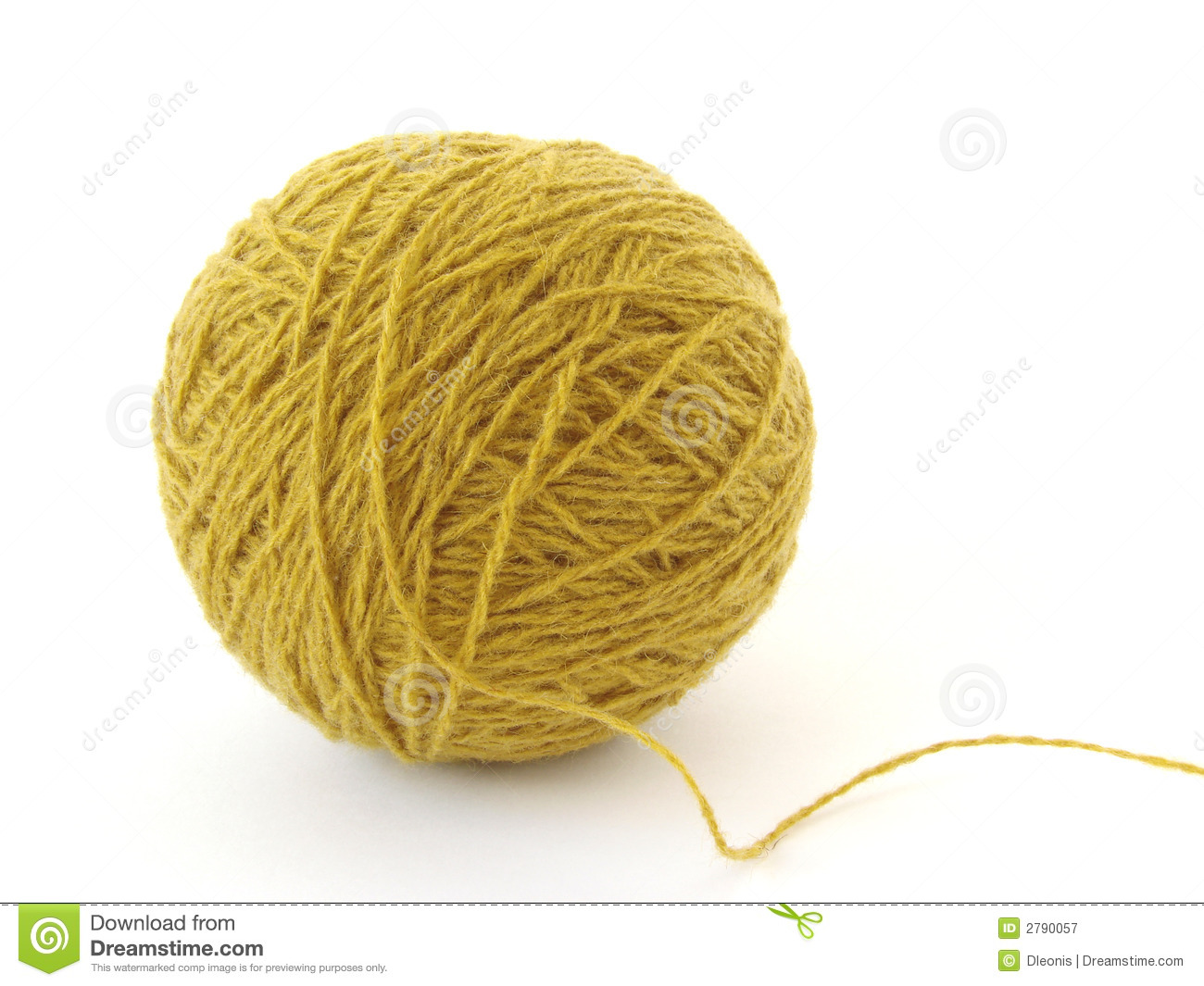Wool Clew Royalty Free Stock Photography Image 2790057