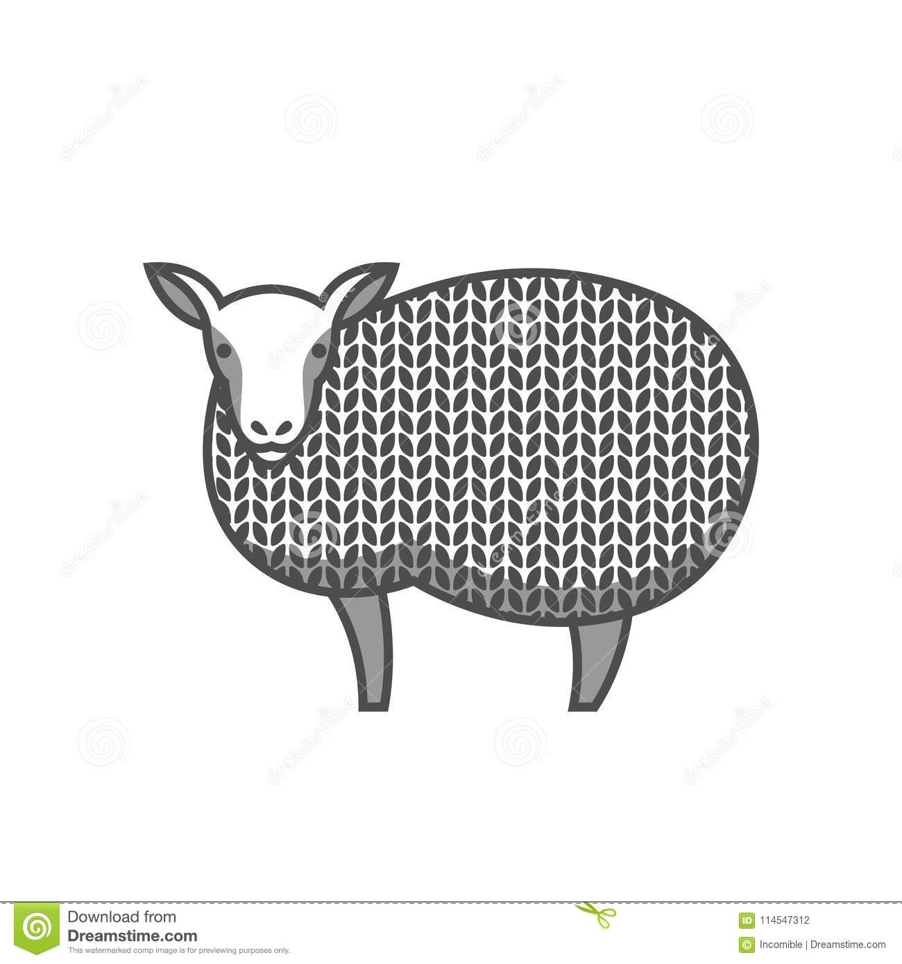 Sheep Craft Pattern | www.topsimages.com