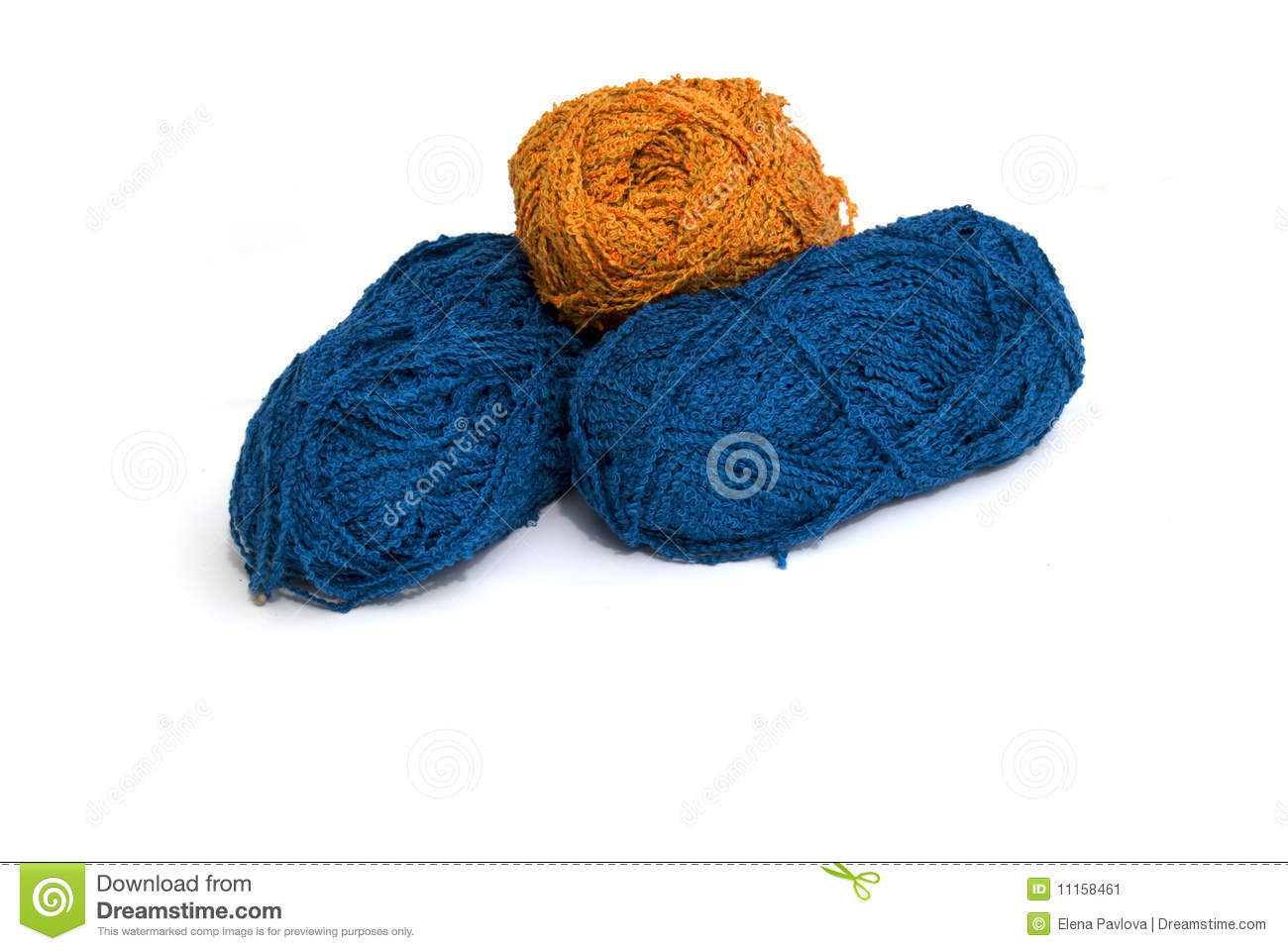 Knitting Patterns Wool And Needles : Wool And Knitting Needles - Isolated Stock Image - Image ...