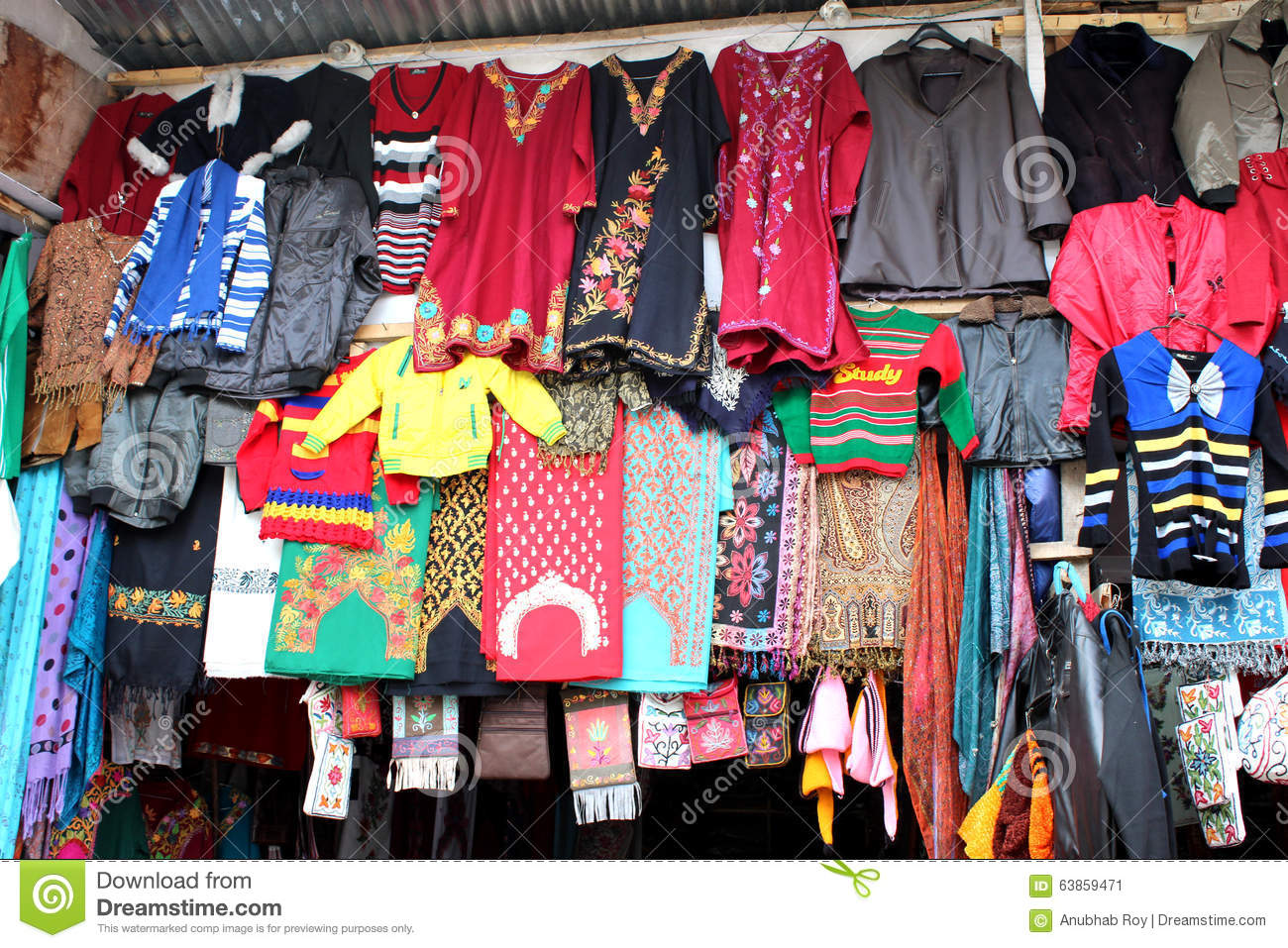 Woolen hand knitted clothing and accessories in kashmir india