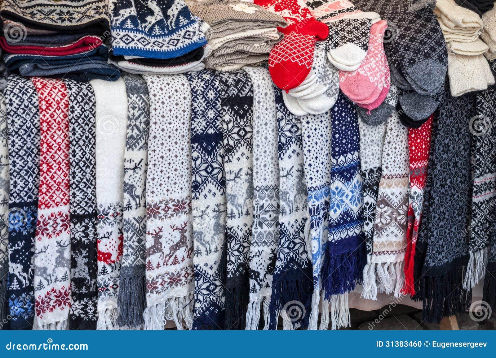 Wool Christmas Socks