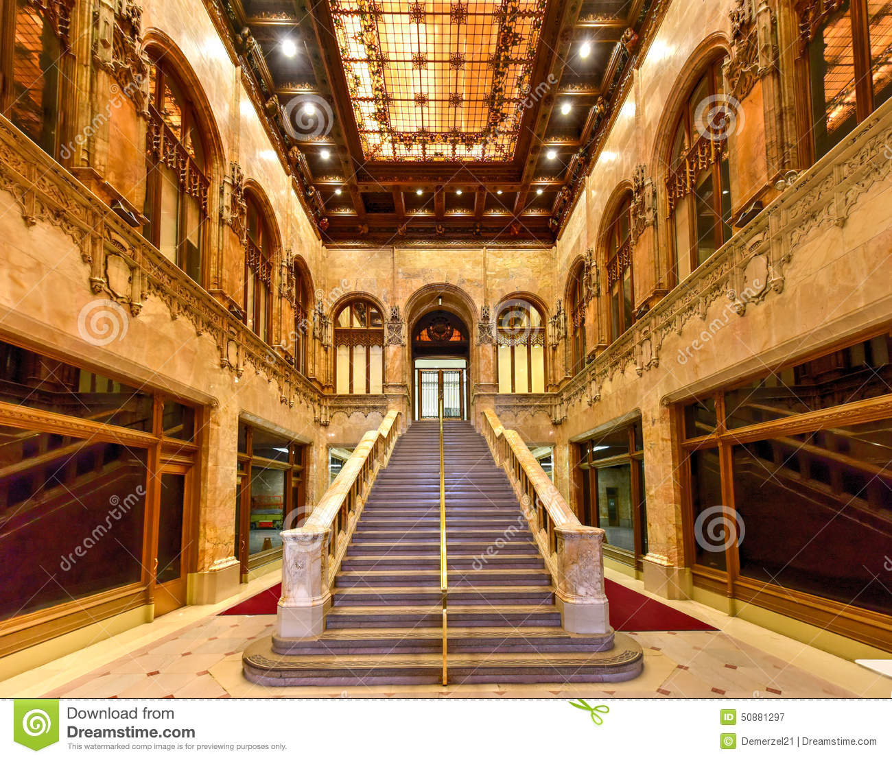 Stock Photo Woolworth Building New York Interior City Usa Was Tallest World Image50881297 on 3d art deco architecture