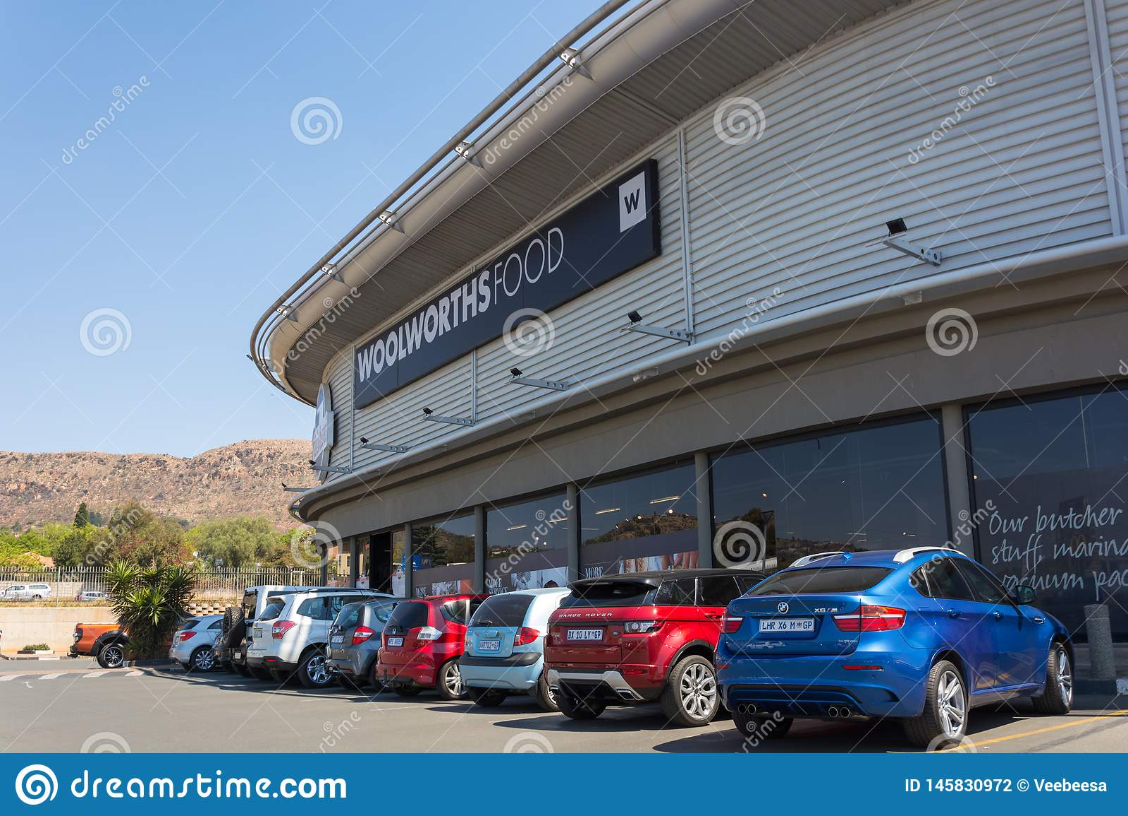 Woolworths-Lebensmittelgeschäft in Roodepoort, Johannesburg