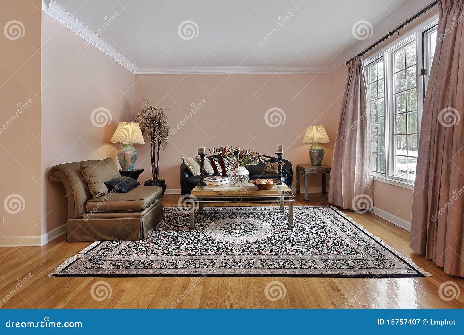 Woonkamer met houten vloeren royalty vrije stock fotografie afbeelding 15757407 - Eigentijdse badkuip ...