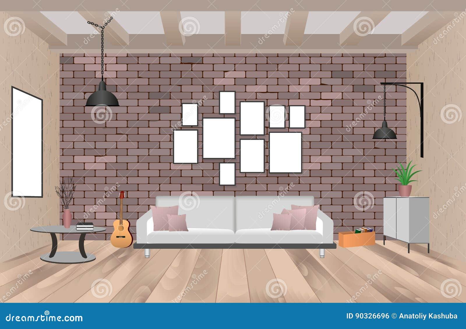 Lampen Voor Woonkamer : Muur lampen woonkamer trendy met meubilair in met lege kaders