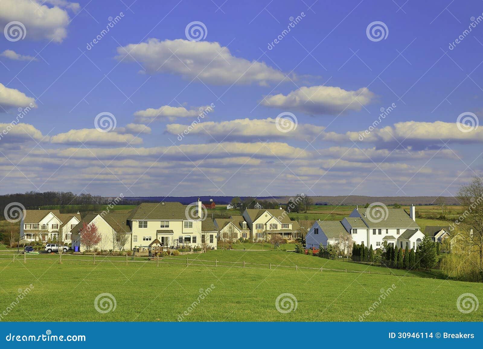 Woonwijk in de Voorsteden