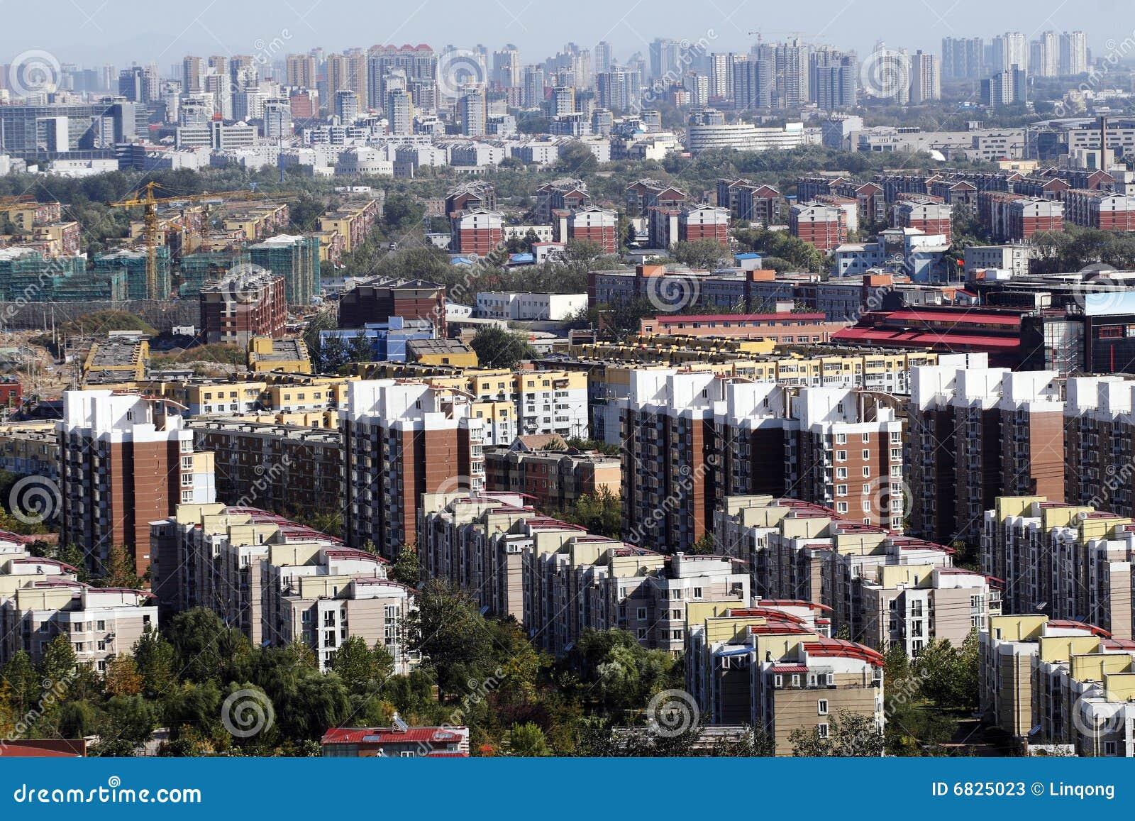 Woonwijk op grote schaal