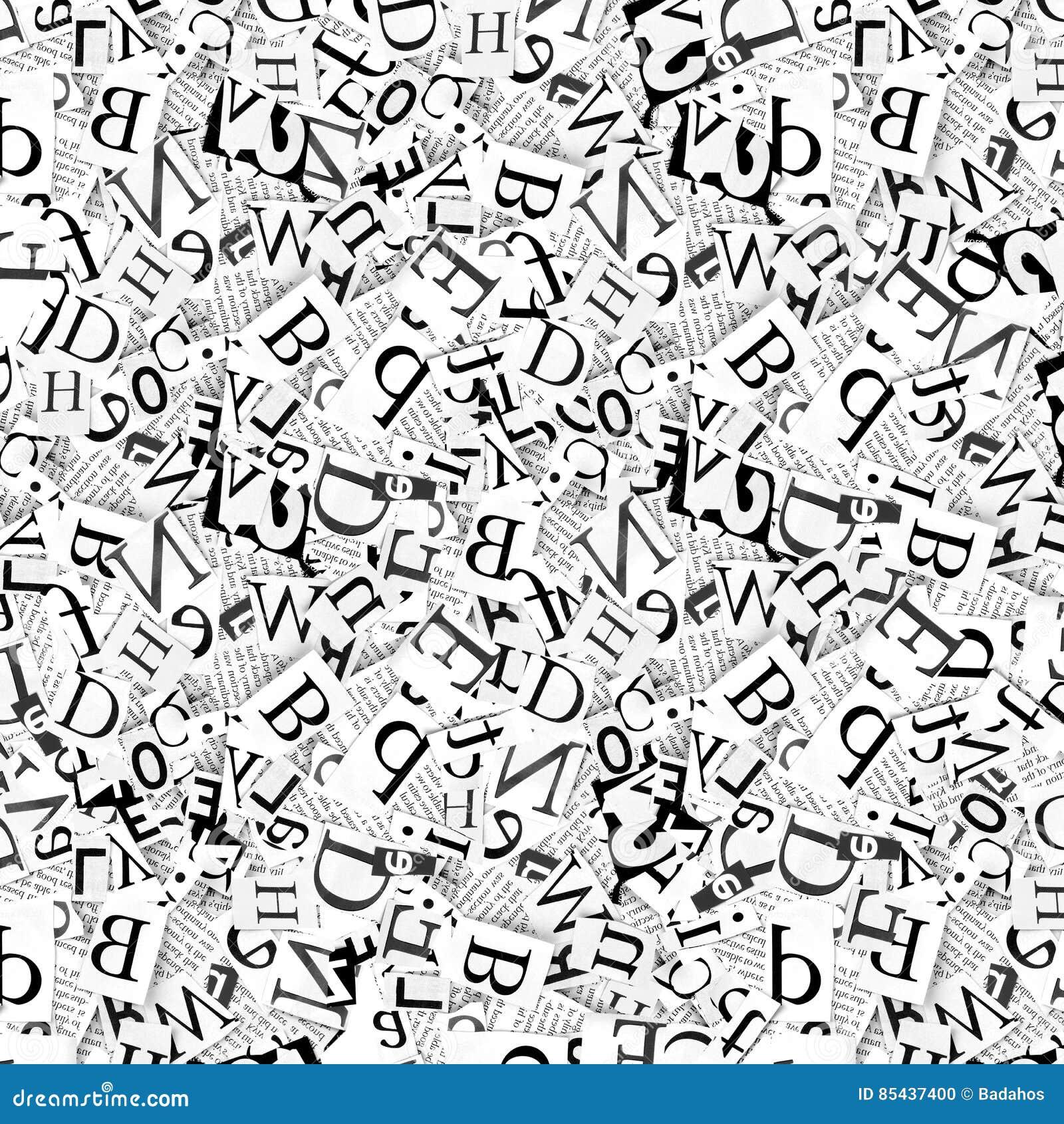 Woorden en brieven