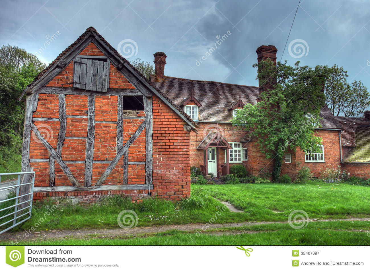 Worcestershire Farmhouse Royalty Free Stock Photography