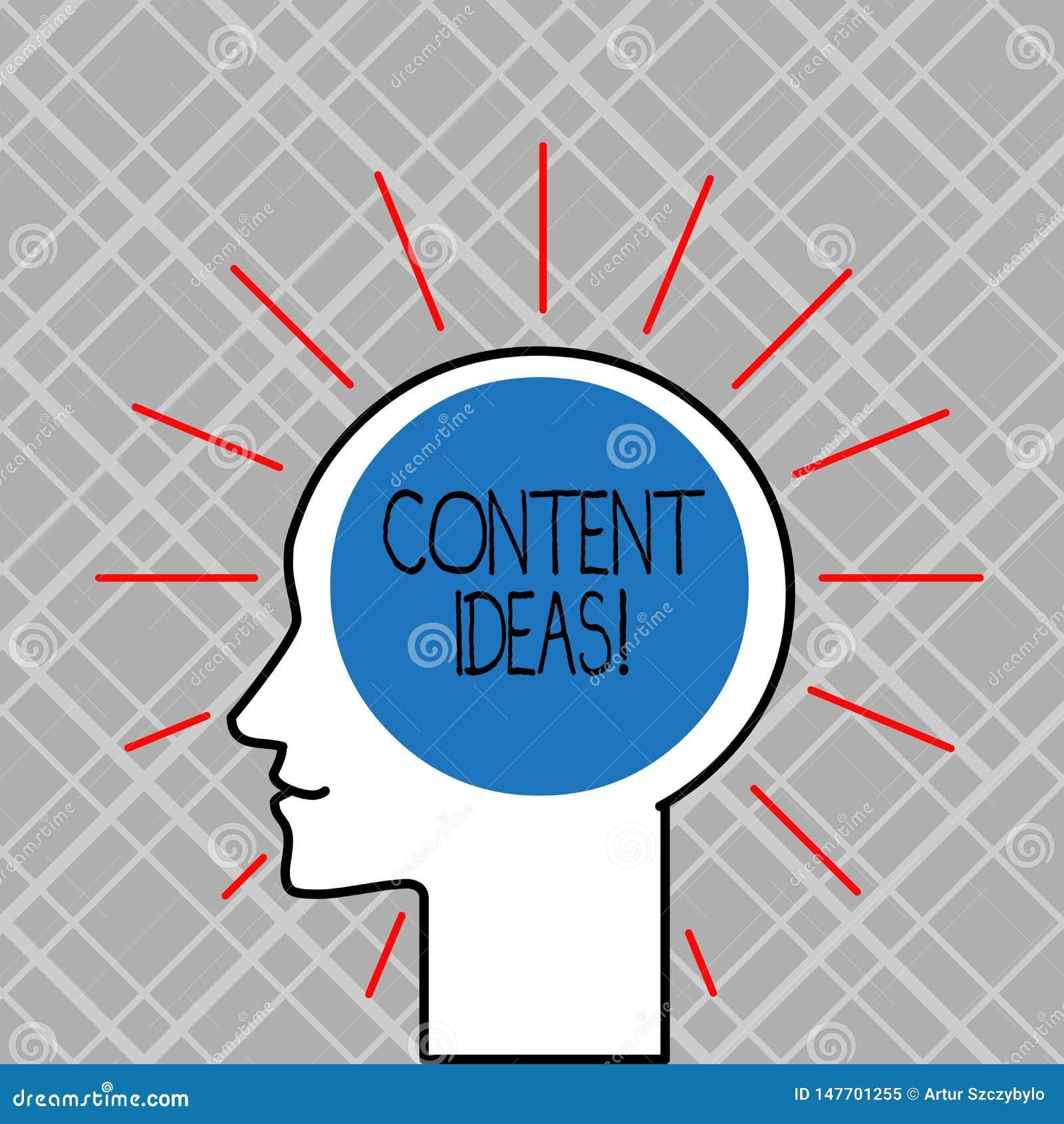 Word écrivant à texte des idées satisfaites Concept d affaires pour la pensée ou l opinion formulée pour la campagne satisfaite