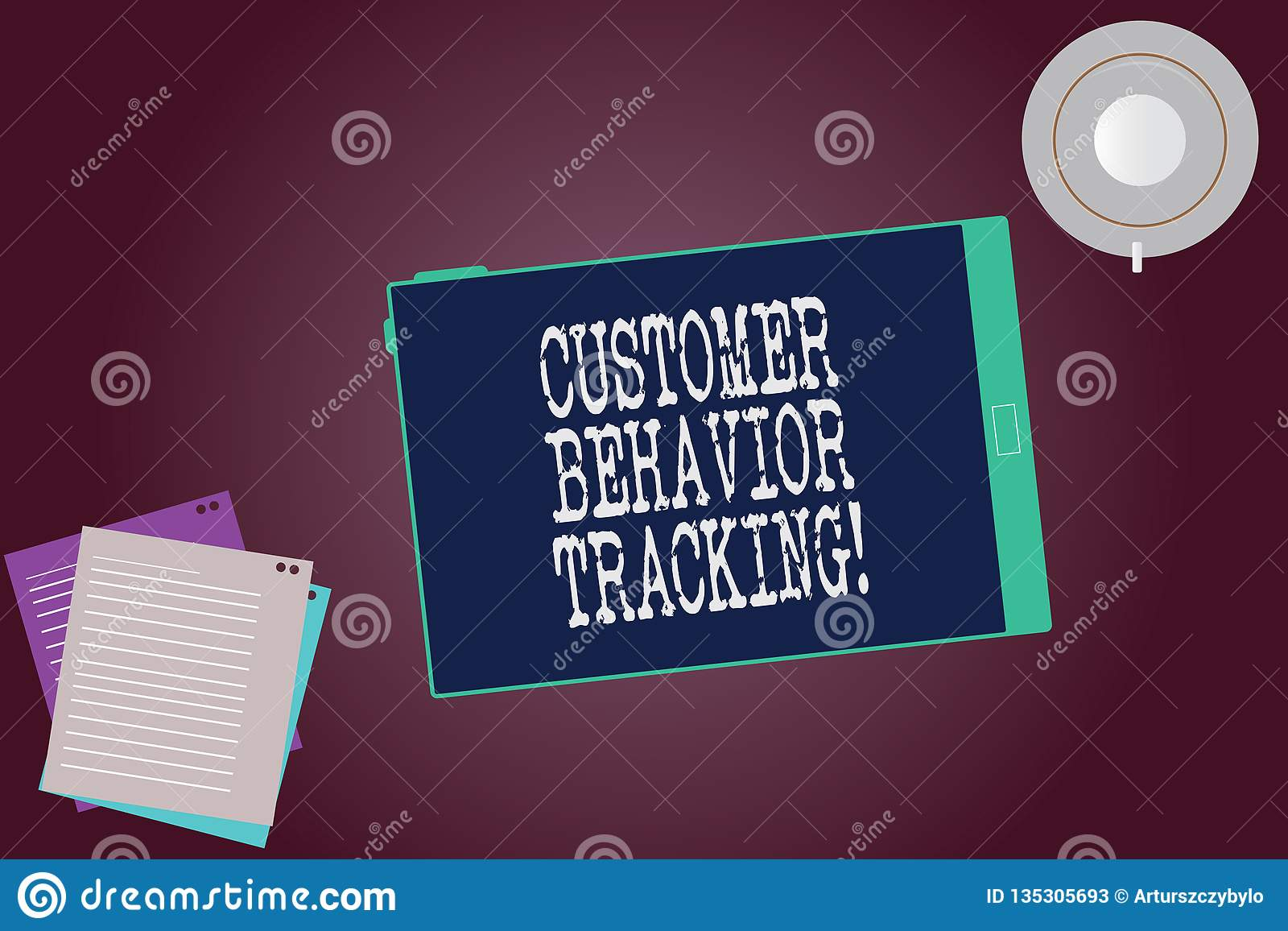 Word écrivant le cheminement de comportement de client des textes Concept d affaires pour une mesure qu un utilisateur prend conn