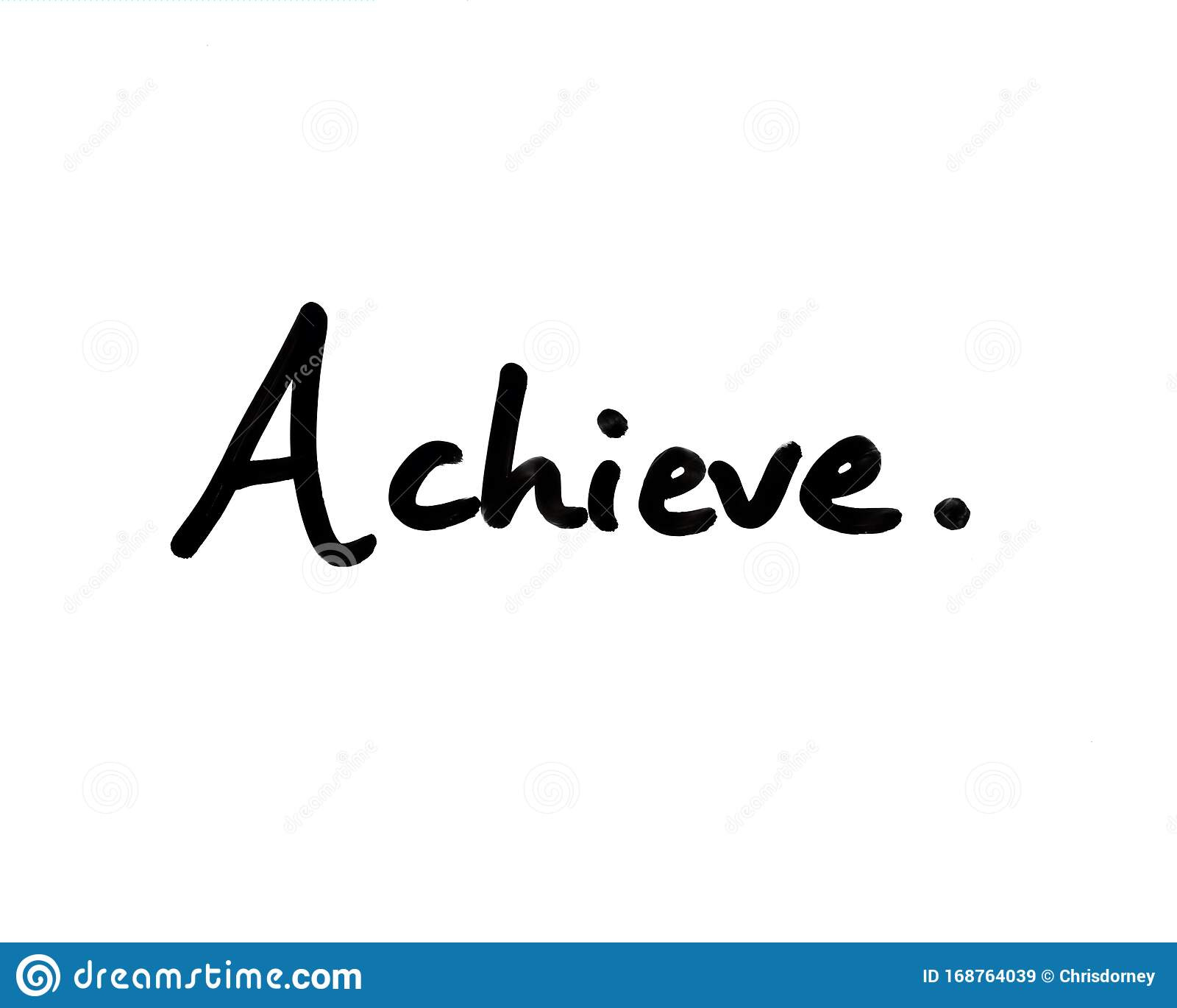 Achieve stock illustration. Illustration of achieve   20