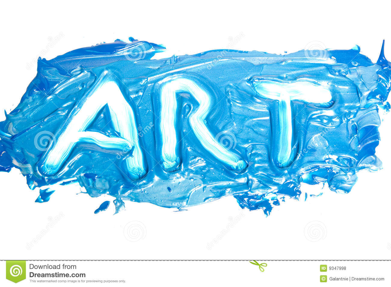 Word - ART stock photo. Image of color, painter, artist ...