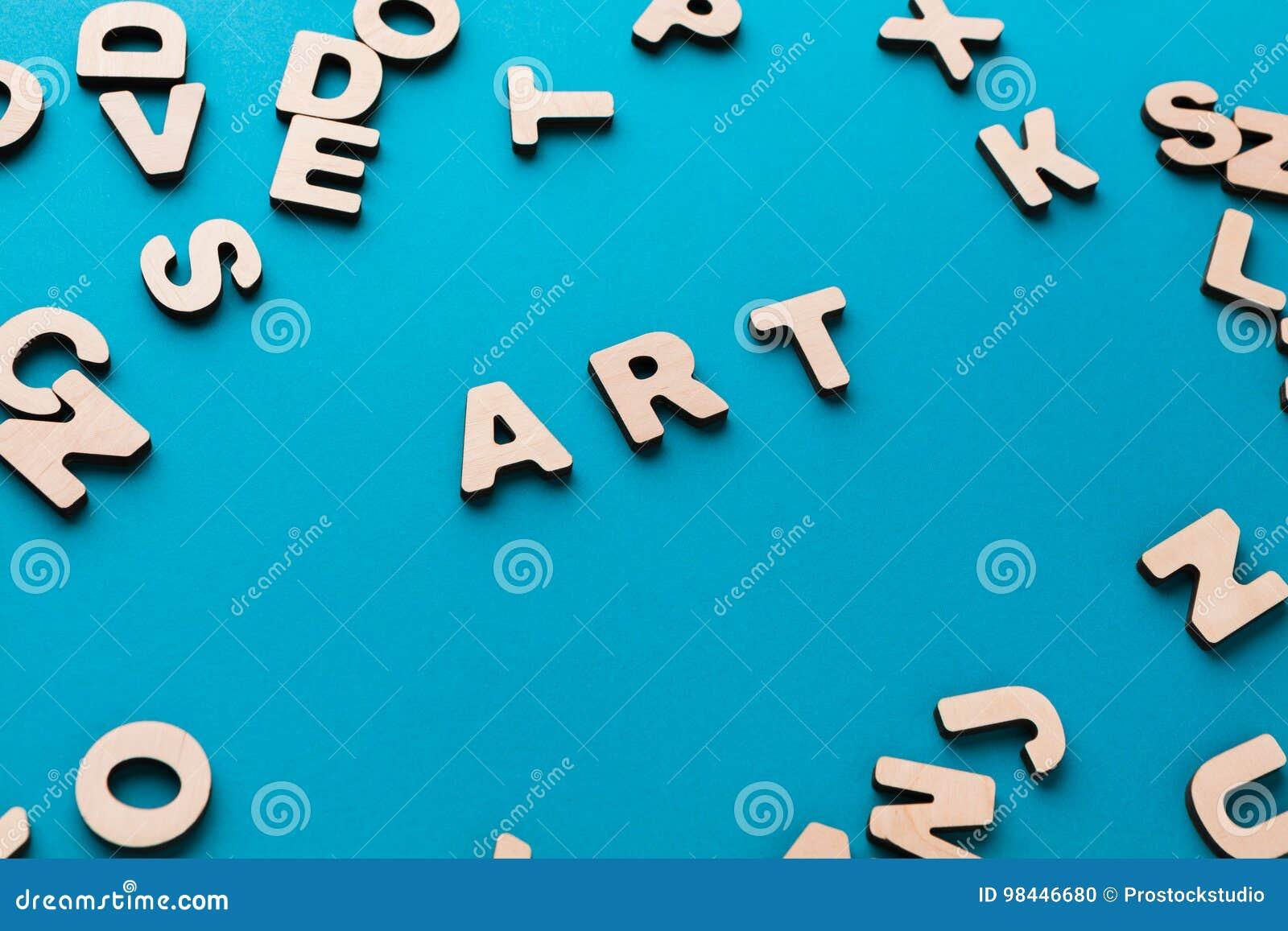 Word Art Blue Background Stock Image of sign craftsmanship
